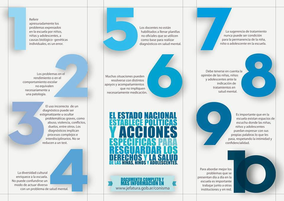 Flyer CONISMA LINEAMIENTOS